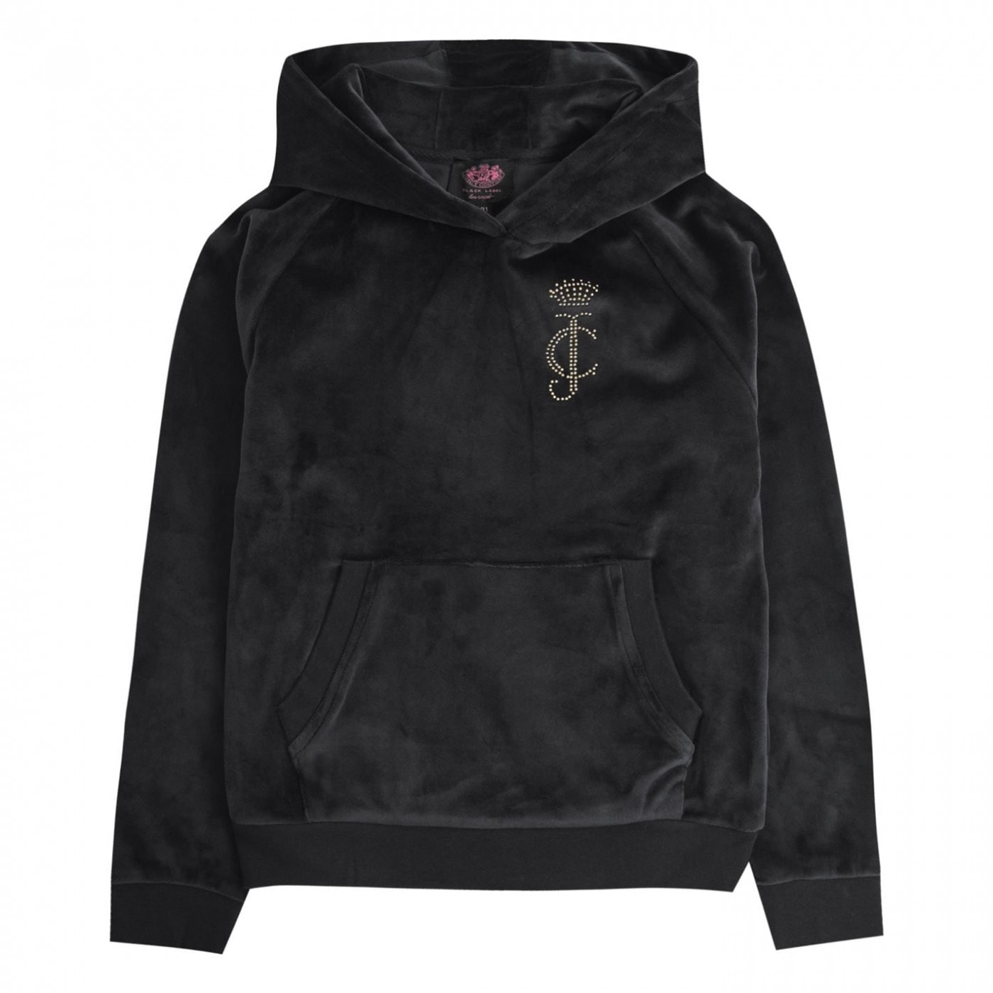 Juicy Couture Velour Pullover Hoodie