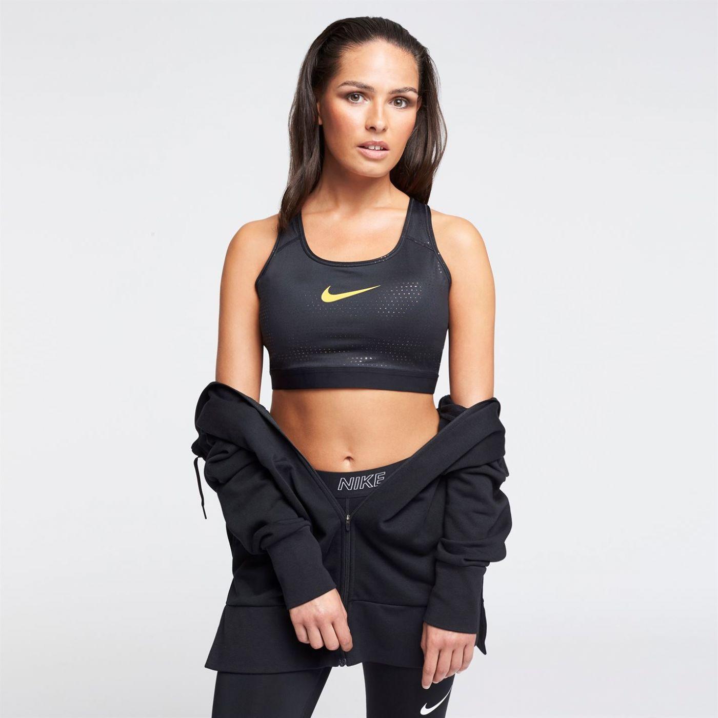 Nike Metallic Dot Print Sports Bra Ladies