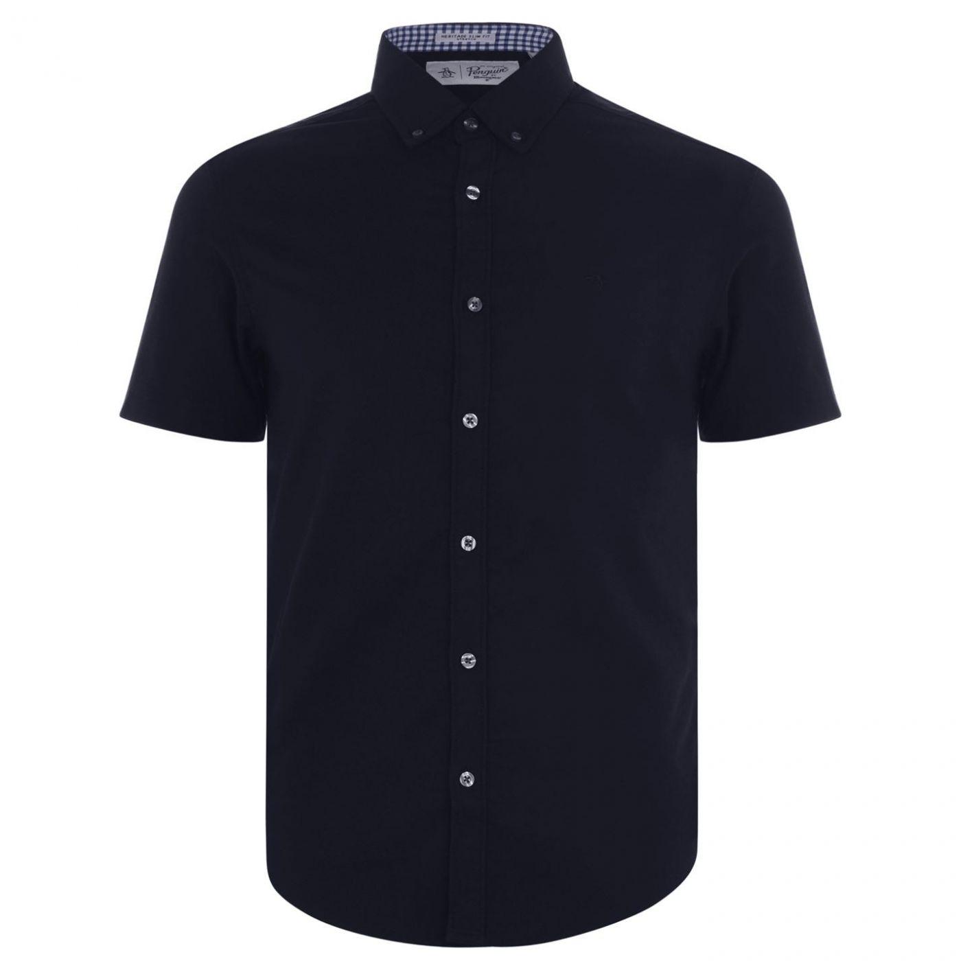 Original Penguin Original Short Sleeve Oxford Shirt
