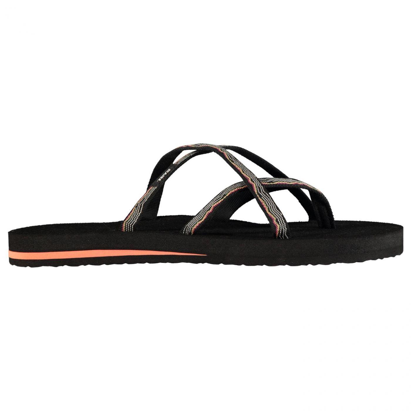 check out de377 63ec5 Teva Olowahu Ladies Flip Flops - FACTCOOL