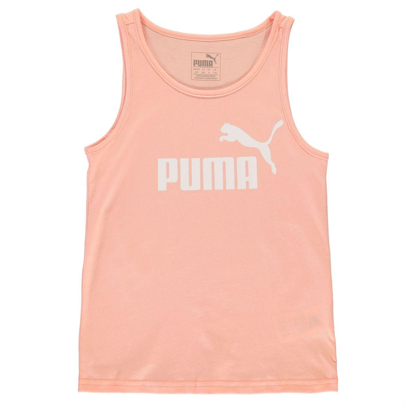 Puma Logo Tank Top Junior Girls