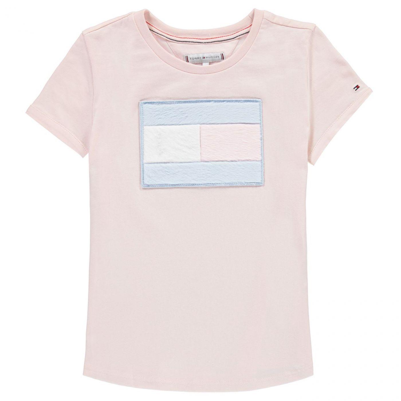 Tommy Hilfiger Fur Flag T Shirt