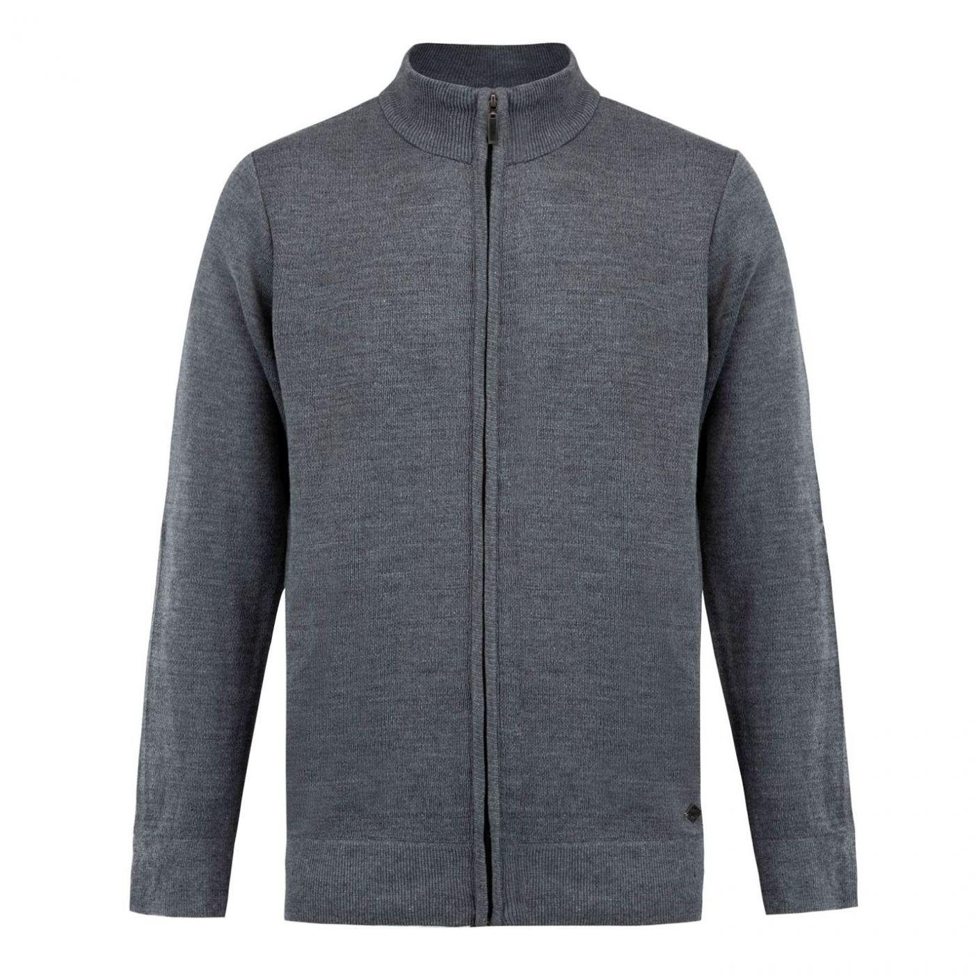 Lee Cooper Knit Jacket Mens