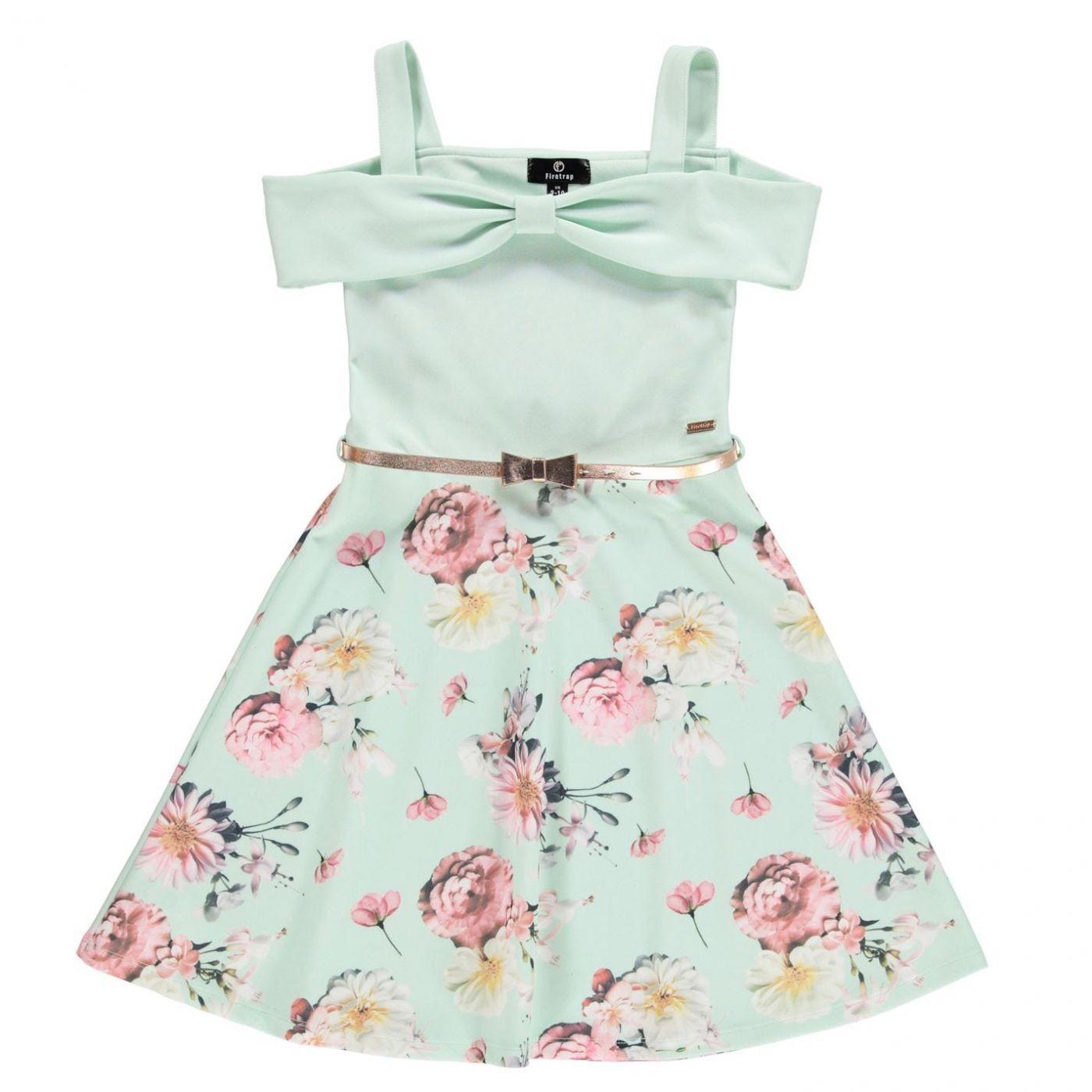 Firetrap Bardot Dress Junior Girls