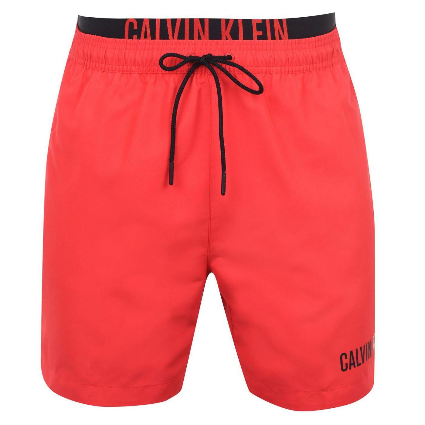 Calvin Klein Waistband Medium Swim Shorts