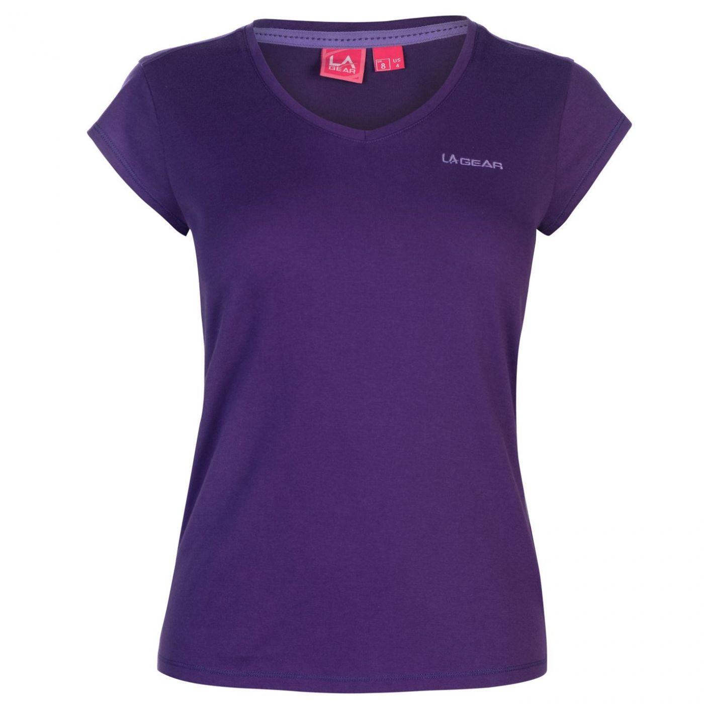 Women's T-shirt LA Gear V neck
