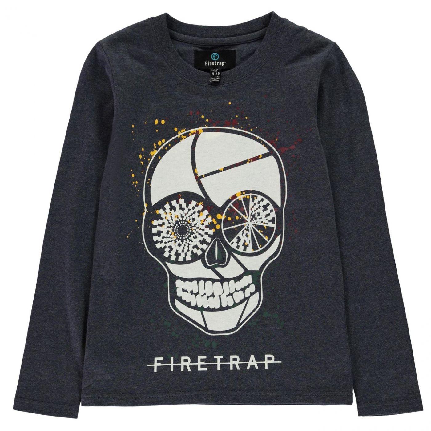 Firetrap Long Sleeve T Shirt Infant Boys