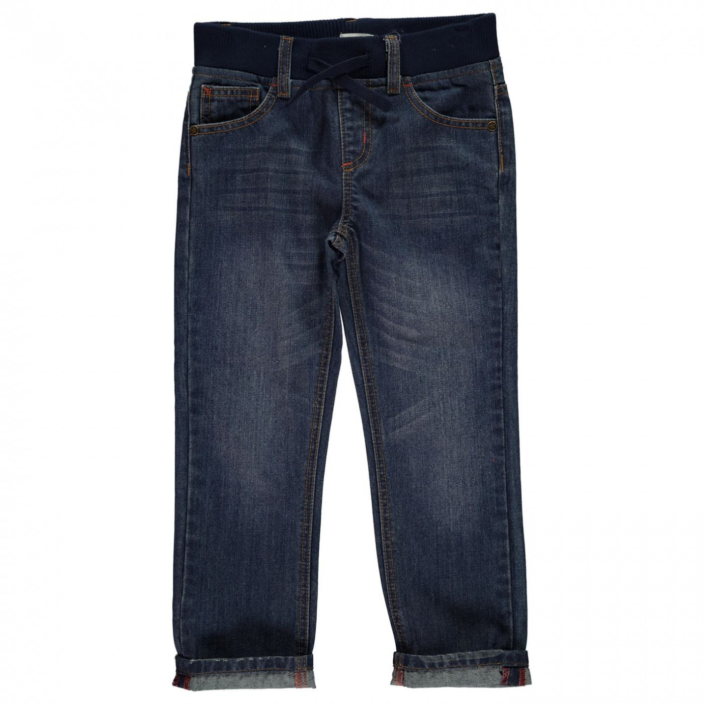 c60d7ccd2c76 Crafted Ribbed Waistband Jeans Infant Boys - FACTCOOL
