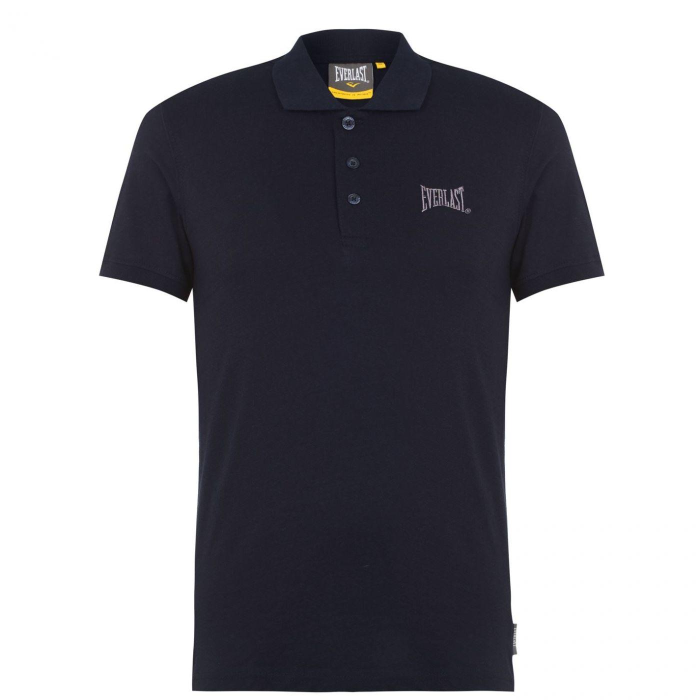 Everlast Jersey Polo Shirt Mens