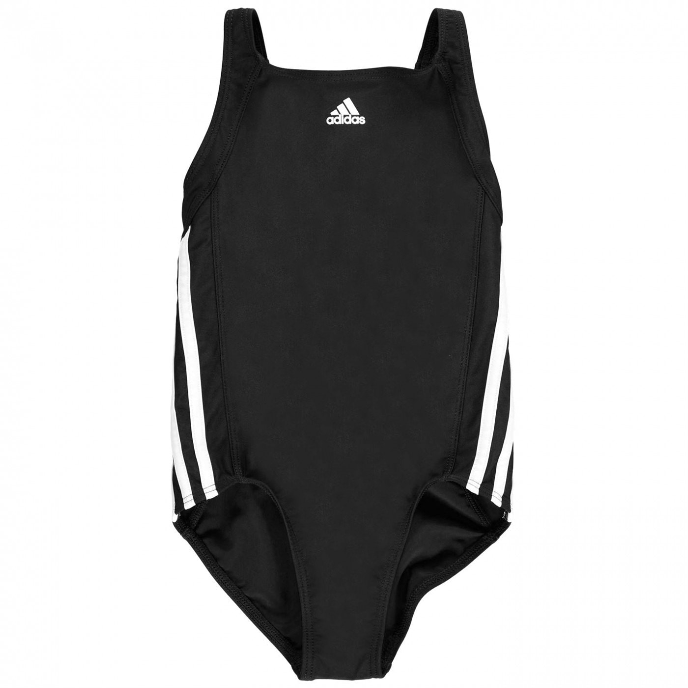 Adidas Three Stripe Swimsuit Junior  Girls