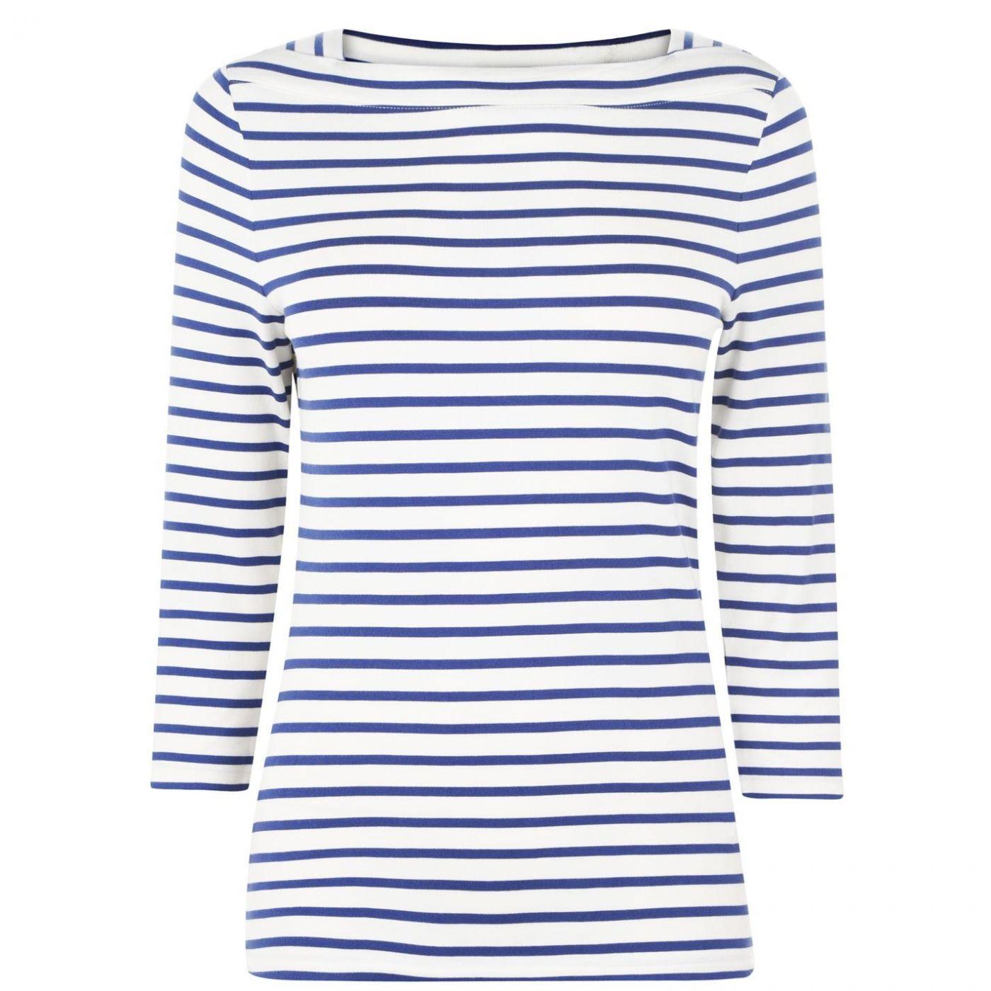 Oui Breton Stripe T Shirt