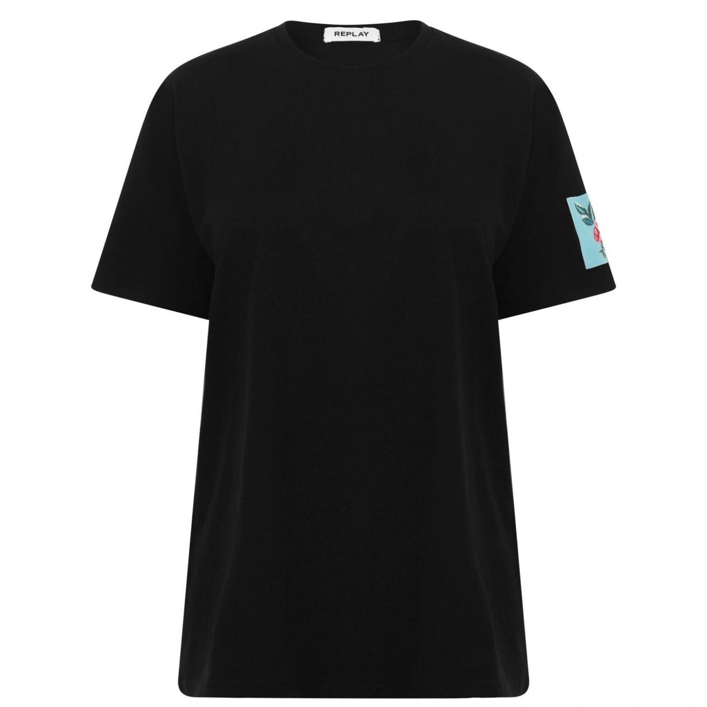 Replay Rose T Shirt