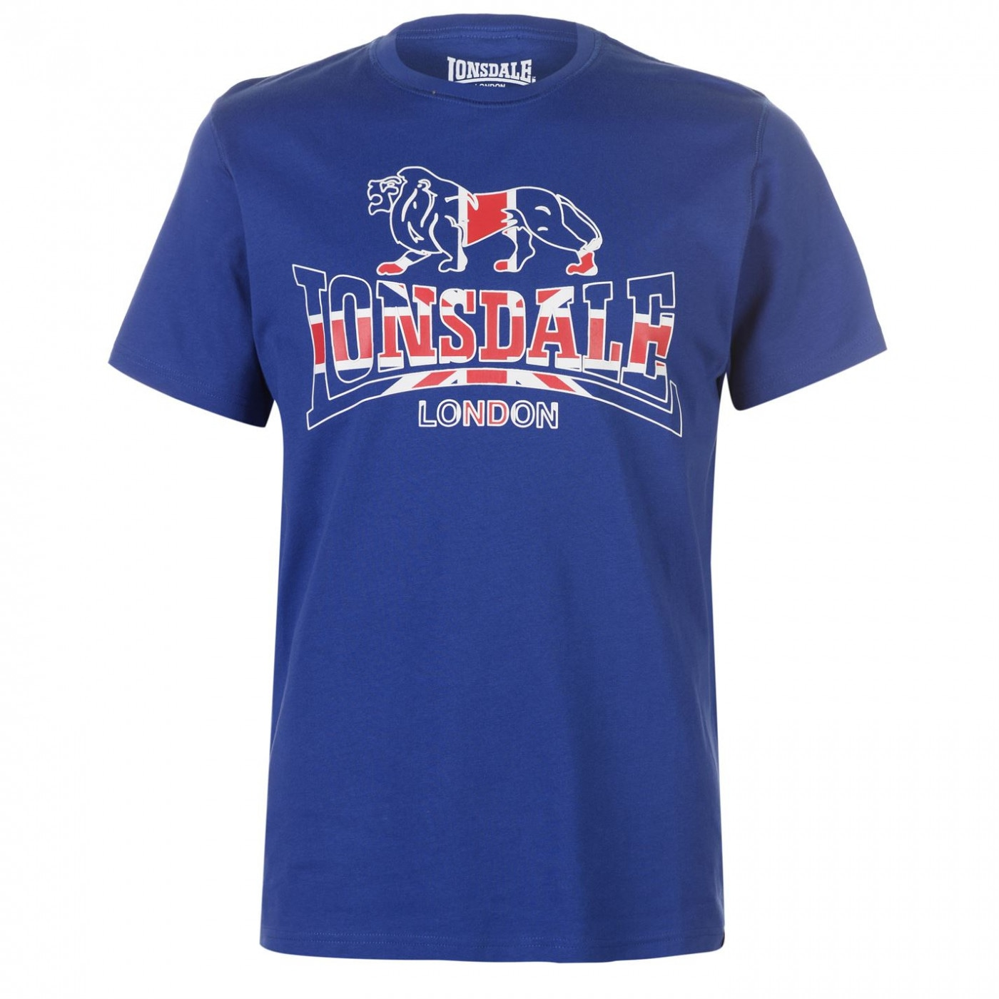 Lonsdale London Flag T Shirt