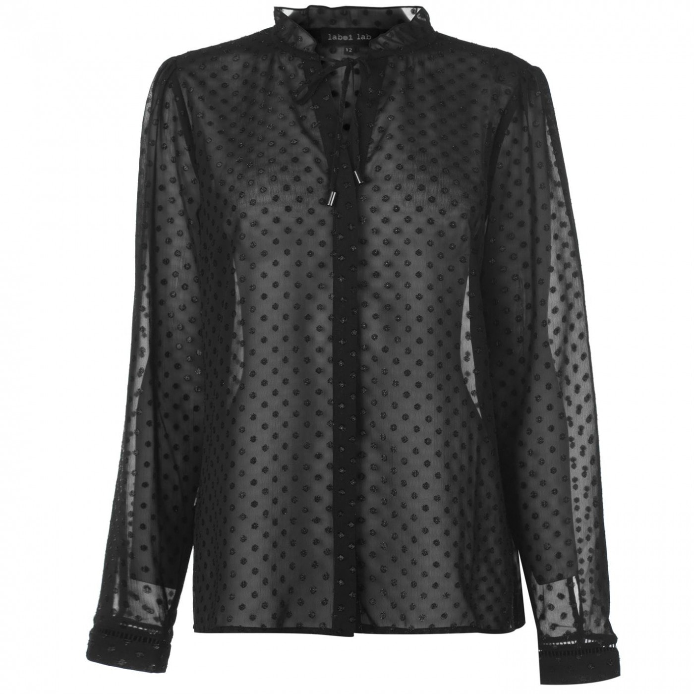 Label Lab Dobby Blouse Womens