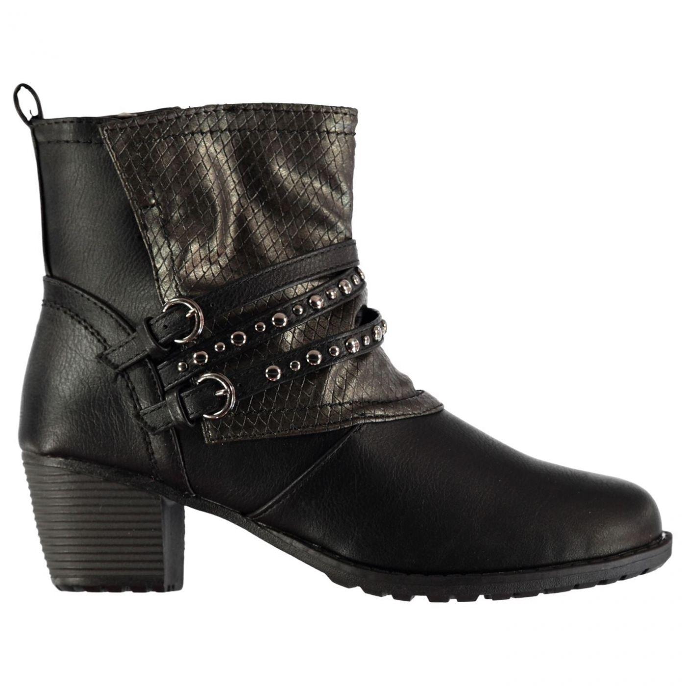 Topway Buckle Boots Ladies