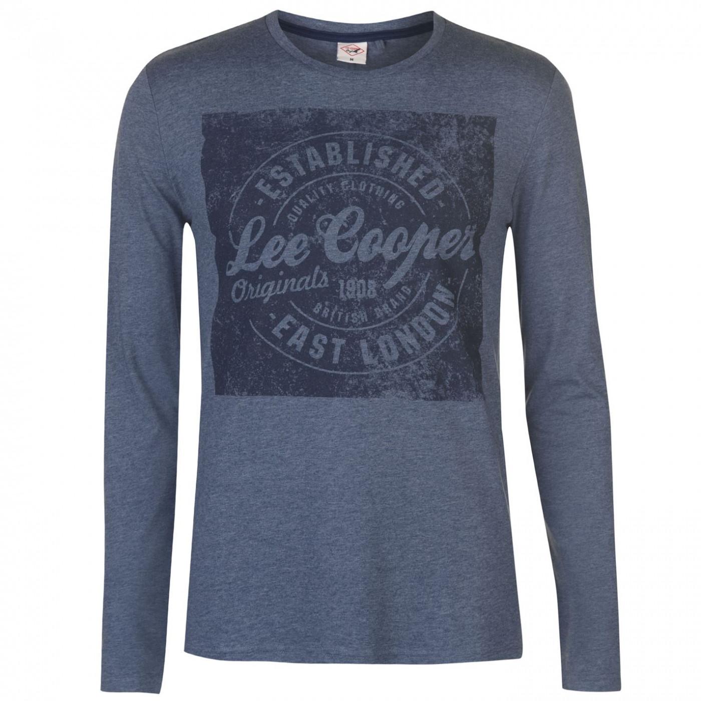 b554169bb Triko Triko Lee Cooper Logo New T Shirt pánské - FACTCOOL