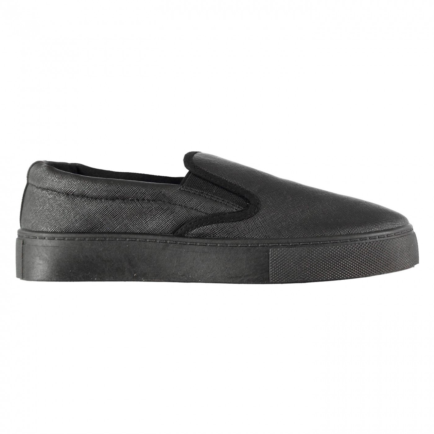 Fabric Hustle Slip On Trainers Ladies