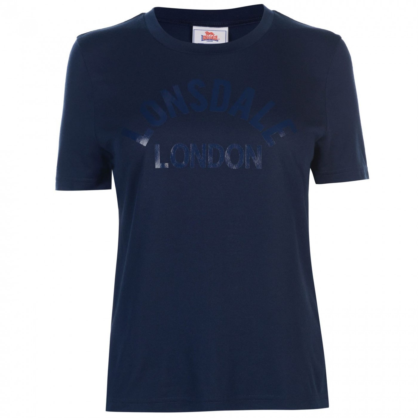 Lonsdale Large Logo Crew T Shirt Ladies
