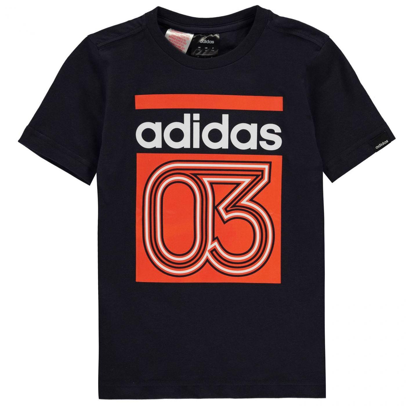 Adidas Boys Line 03 T-Shirt QT