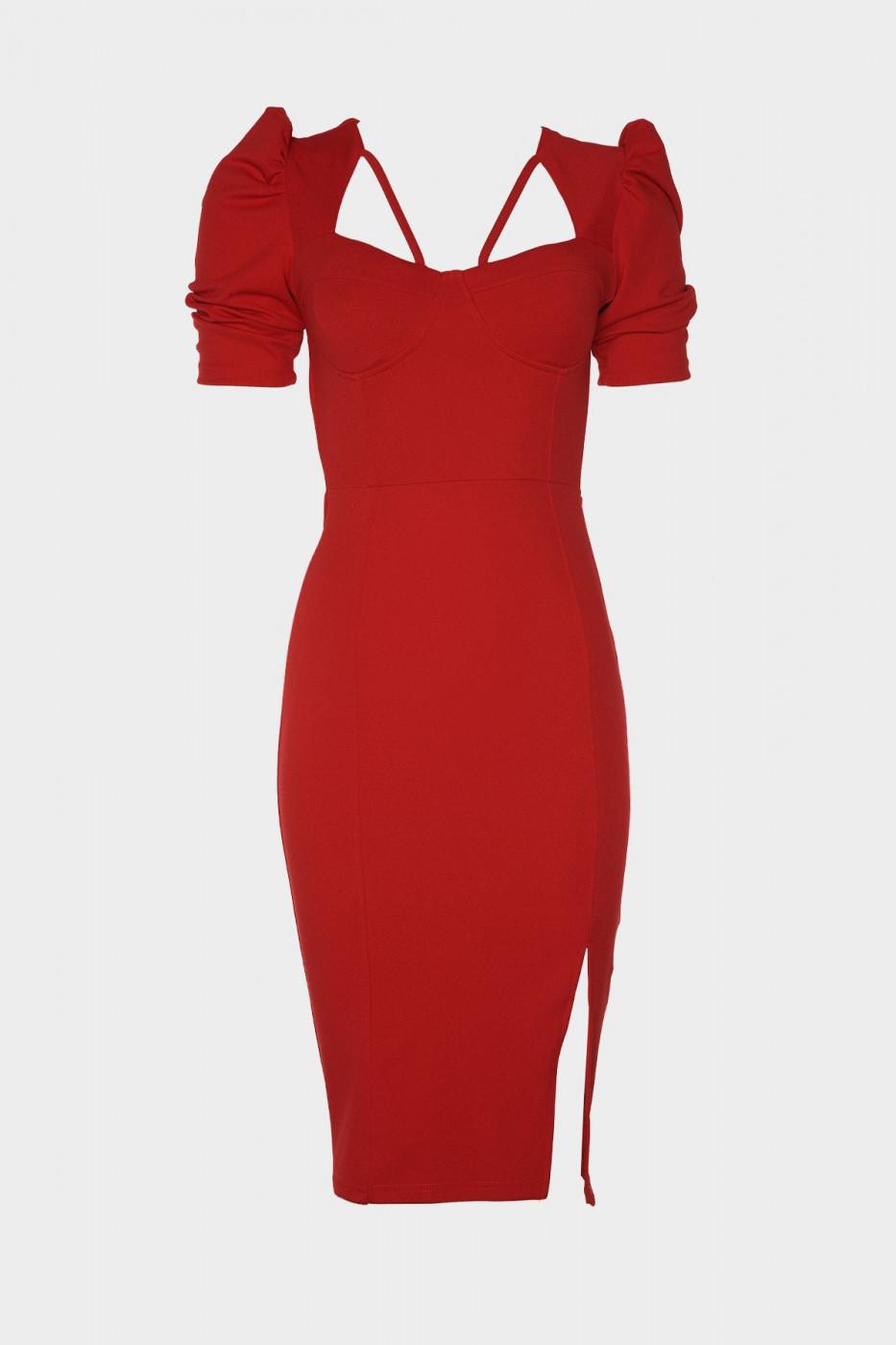 Trendyol Red Handle Dress