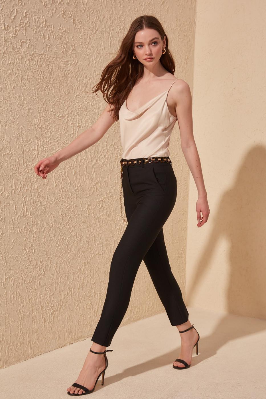 Women's pants Trendyol Basic