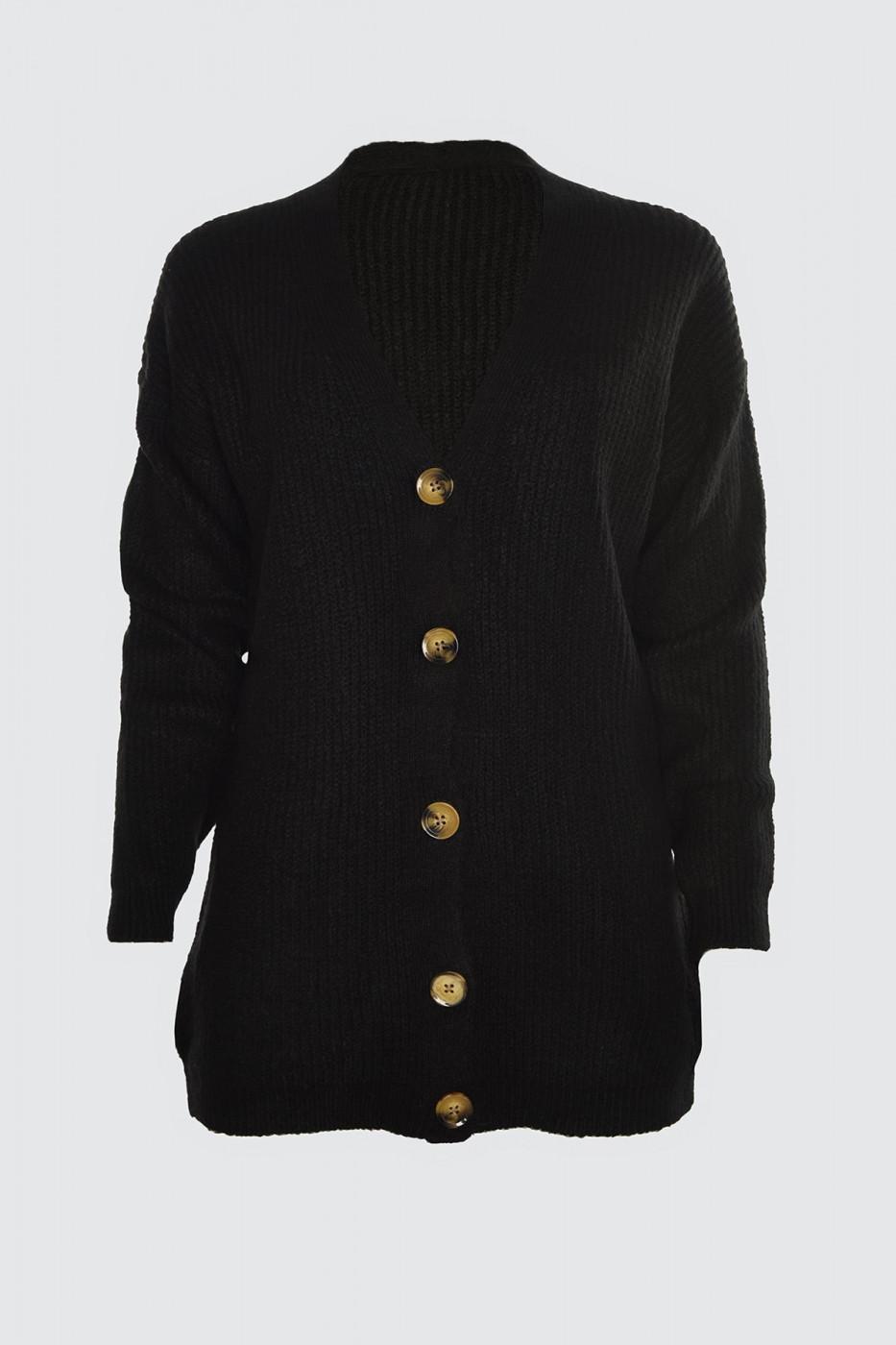 Trendyol Black Knit Cardigan