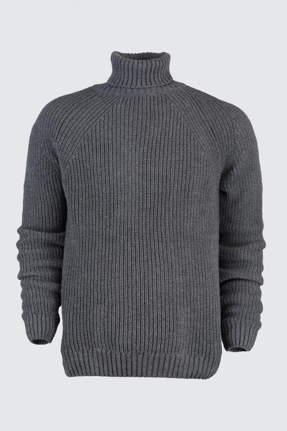 Trendyol Grey Male Sweater