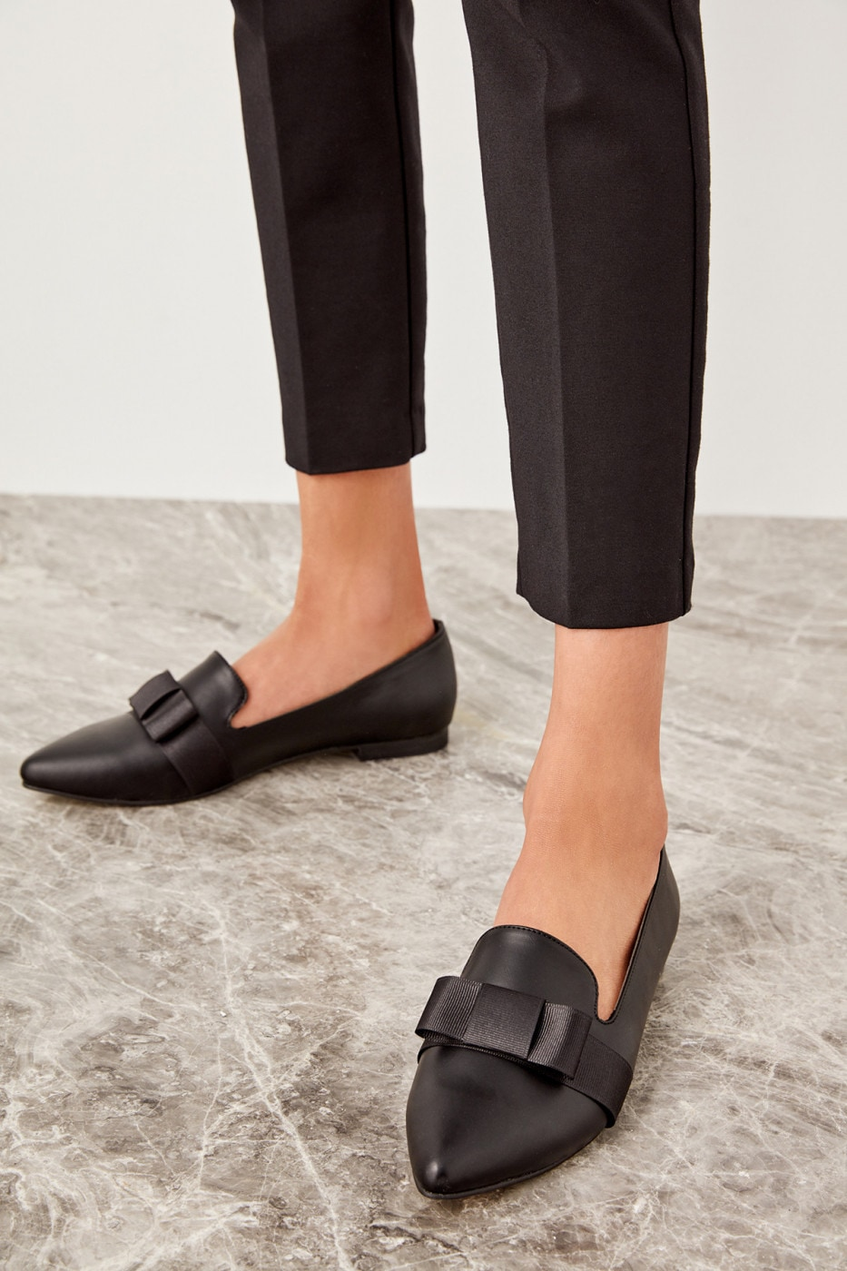 Trendyol Black Women Loafer Shoes