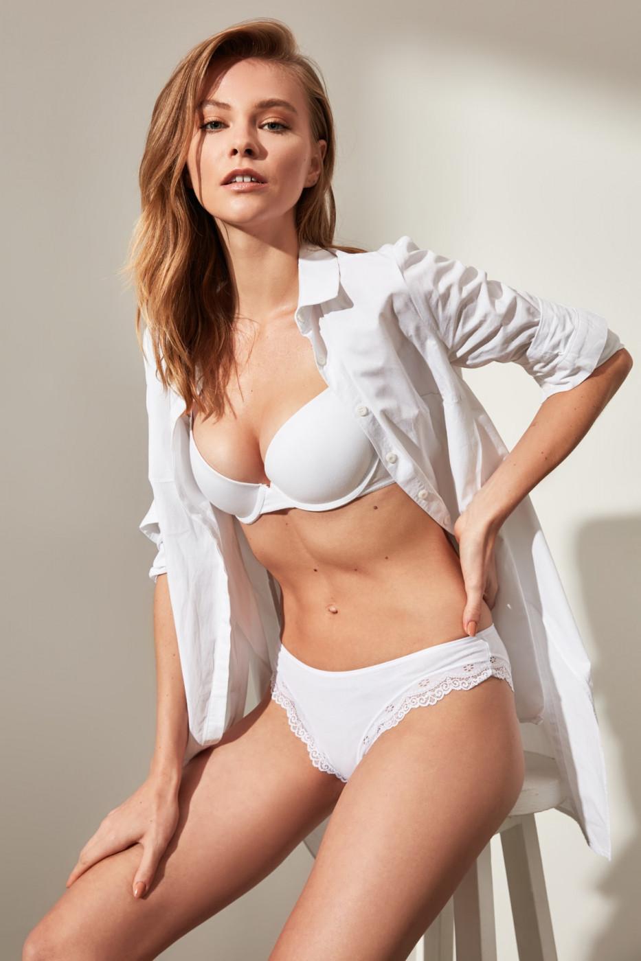Trendyol Lace Detailed 3 Pack Slip Panties