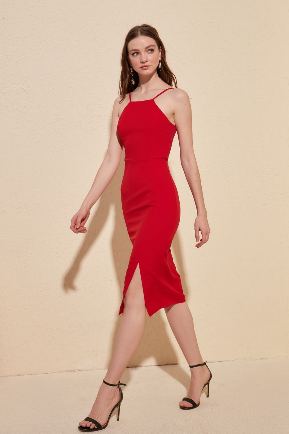 Trendyol Red Strap dress