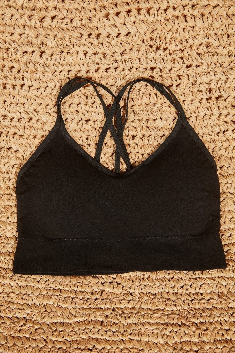 Trendyol Black Seamless Assisted Sports Bra
