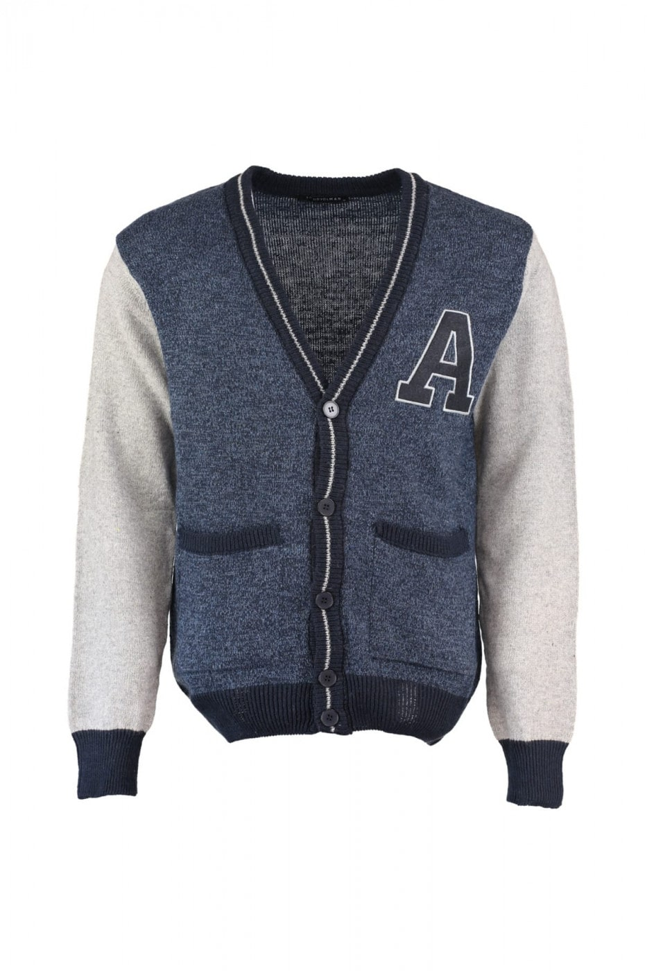 Trendyol Navy Blue Men's Pocket Edging Cardigan