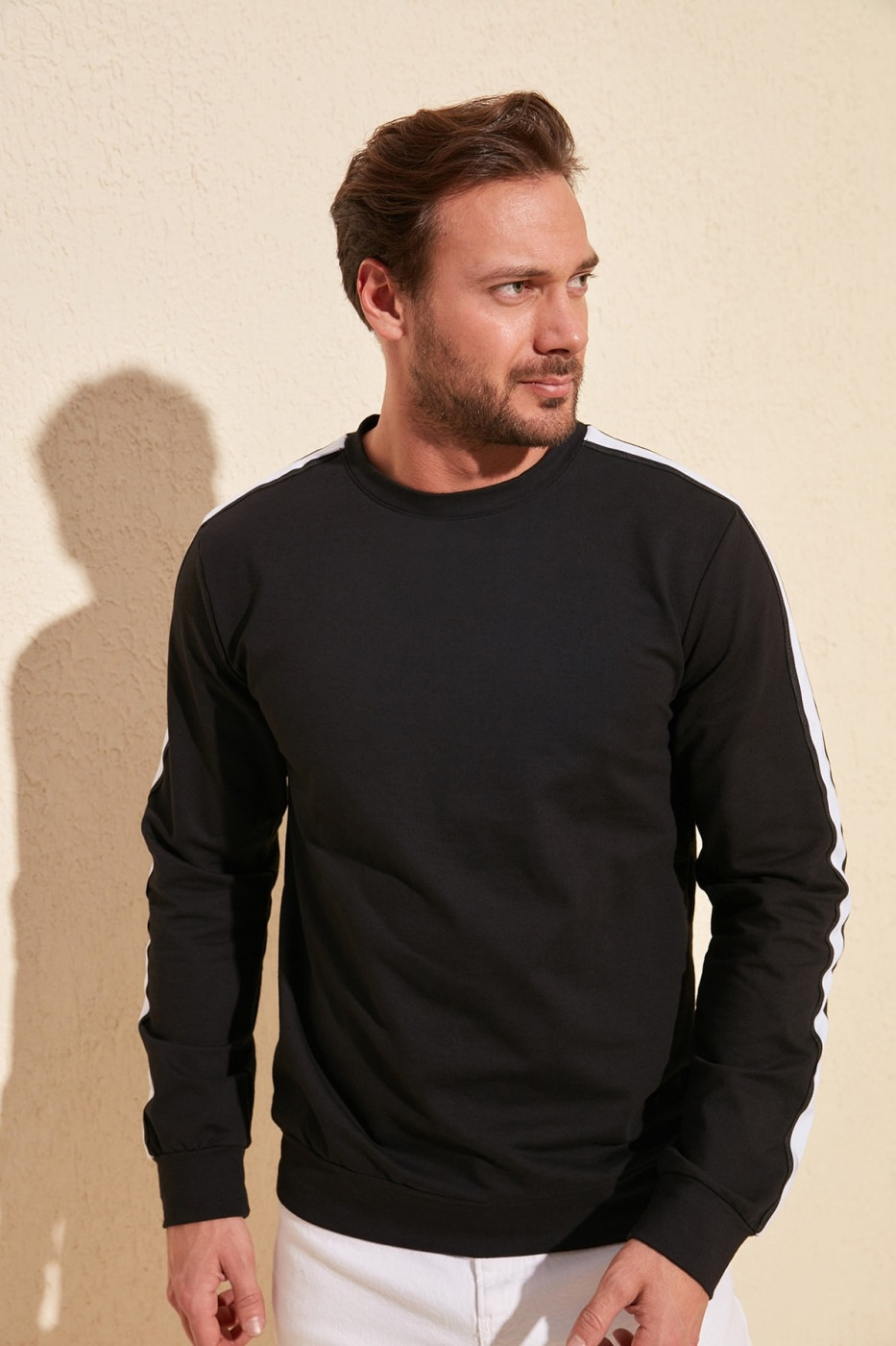 Men's sweatshirt Trendyol Striped