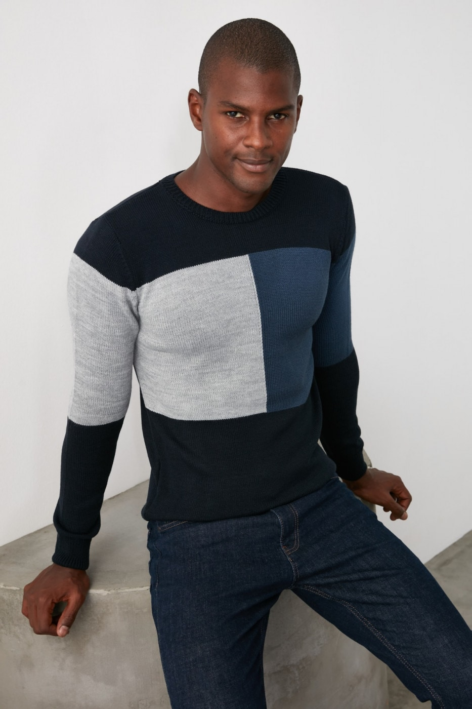 Trendyol Navy Men's Sweater