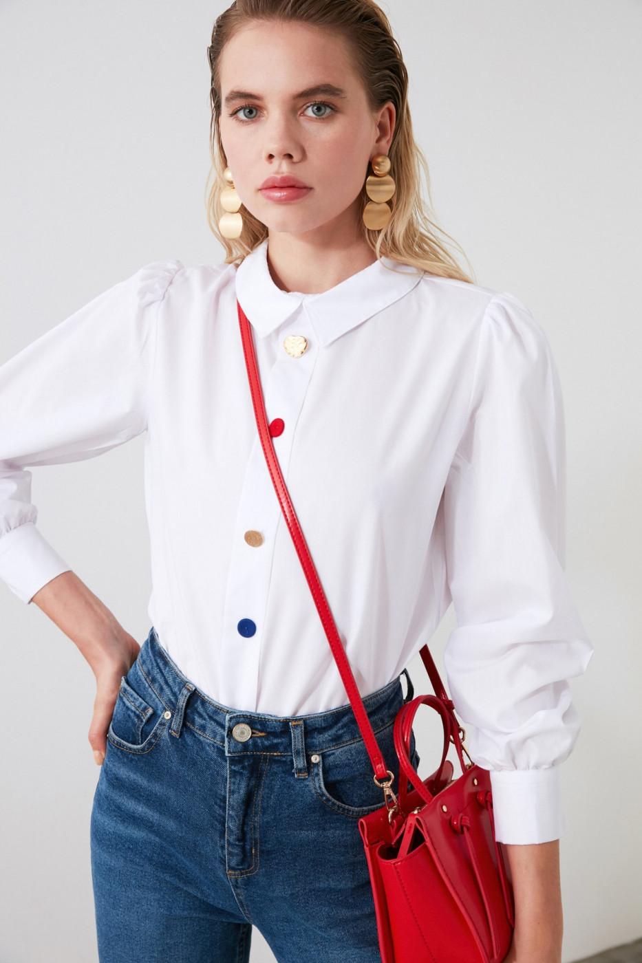 Women's shirt Trendyol Button Detailed
