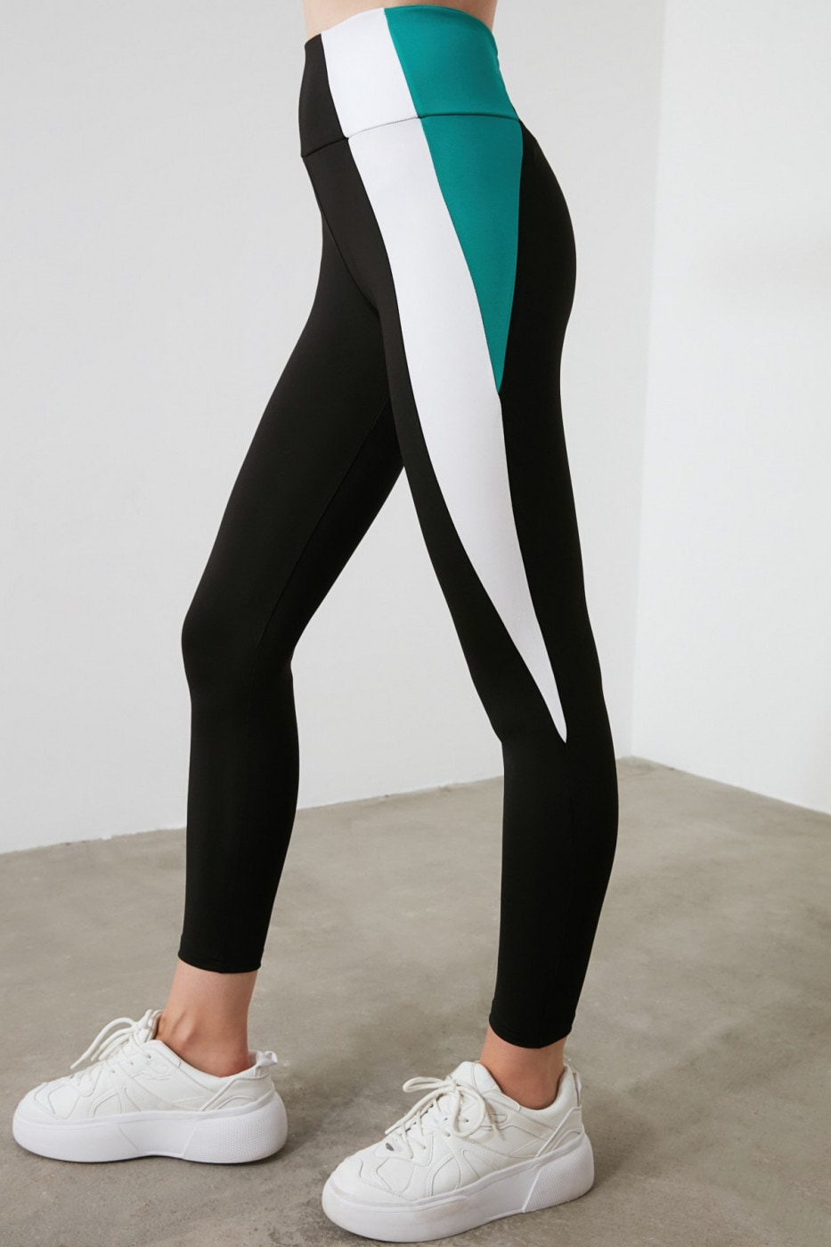 Trendyol Sports Tights with Black Block