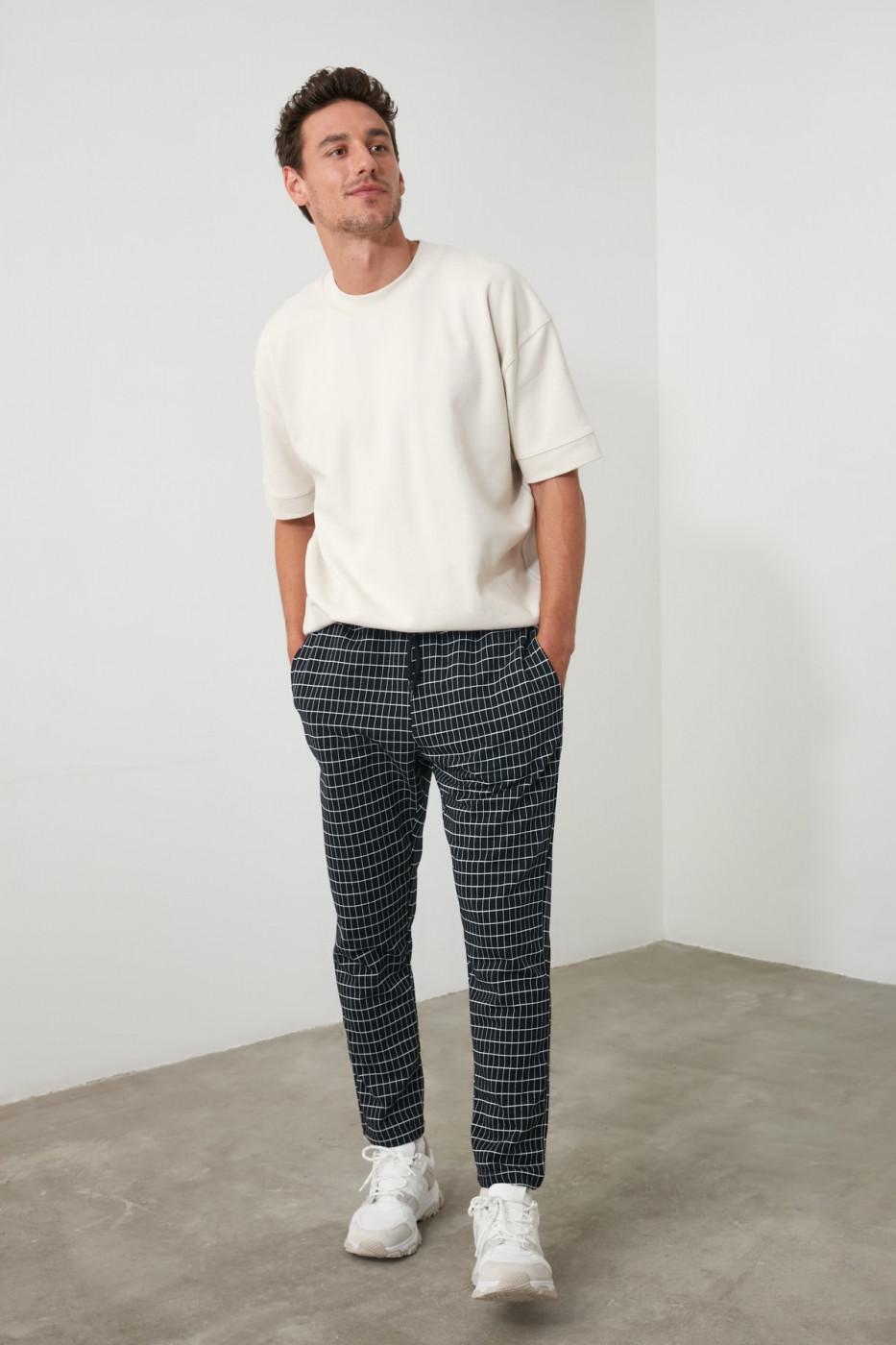 Men's sweatpants Trendyol Patterned