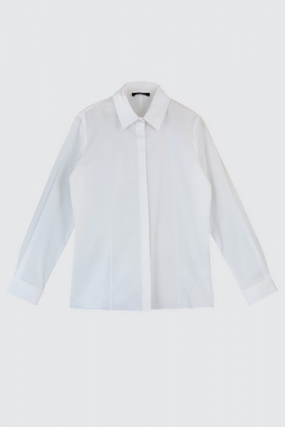 Trendyol White Fitted Shirt
