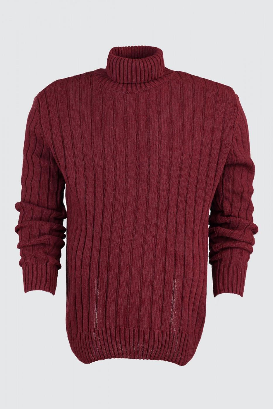 Trendyol Burgundy Male Sweater