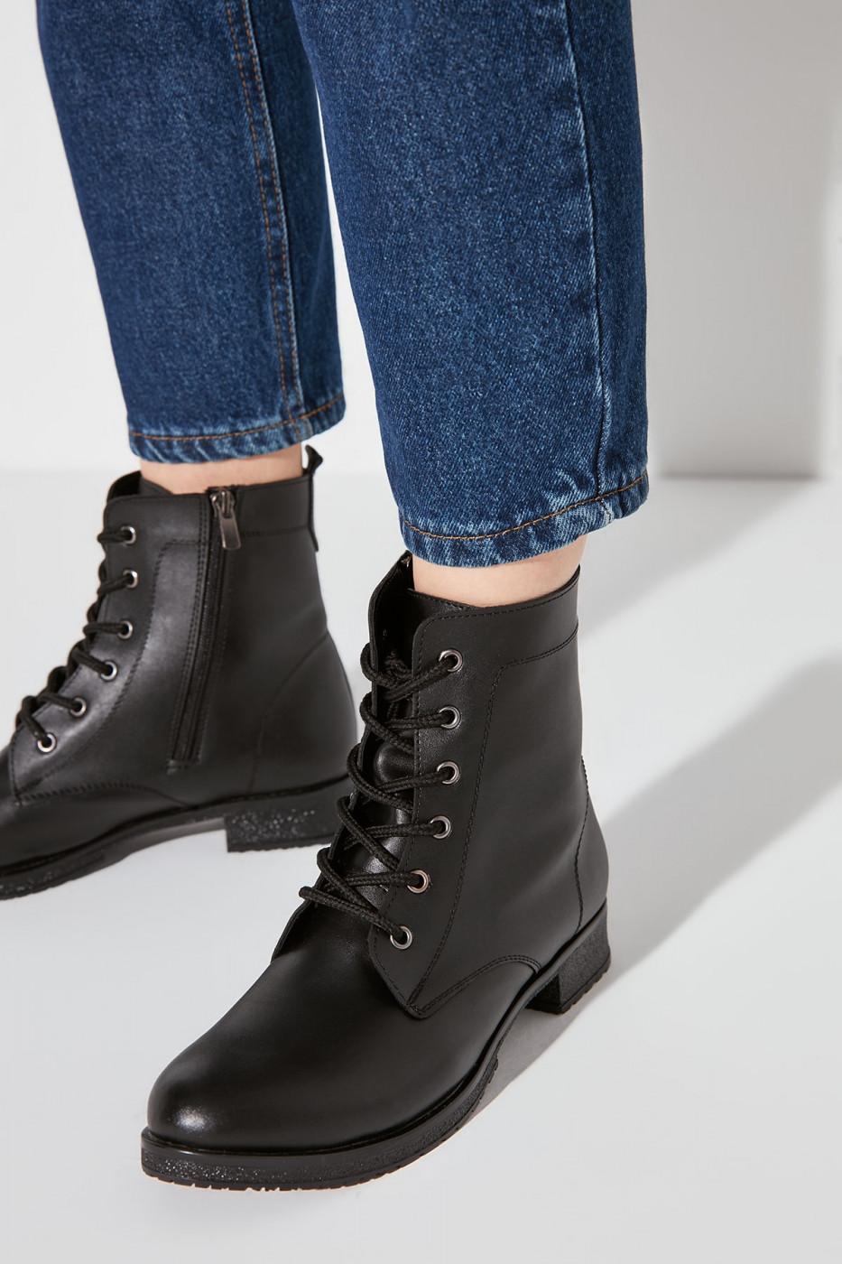 Trendyol Black Women's Boots & Bootie