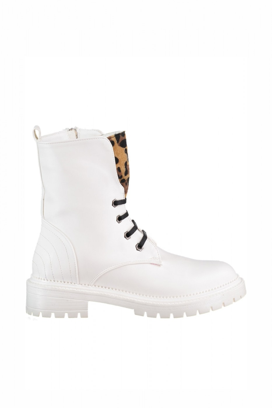 Trendyol White Thai Feather Detailed Women's Boots