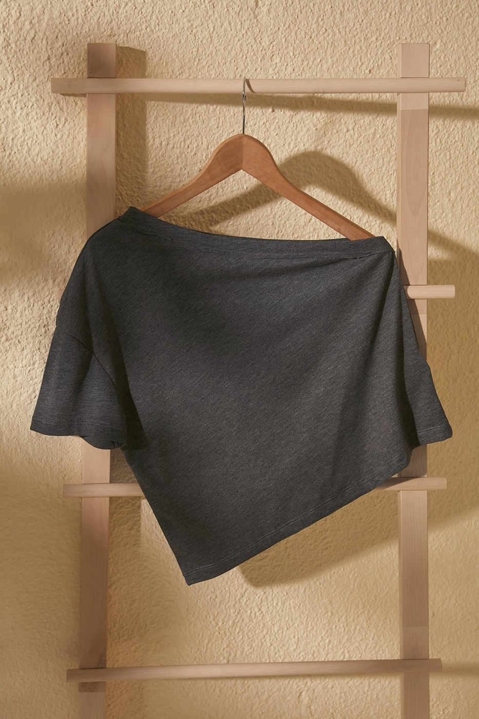 Trendyol Anthracite One Sleeve Knitted Blouse