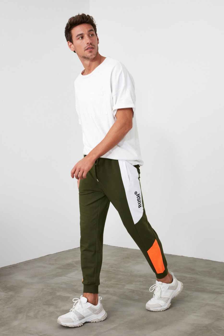 Trendyol Khaki Men's Tracksuit bottom