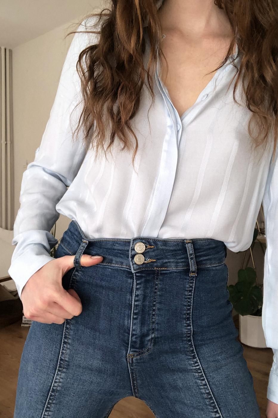 Women's shirt Trendyol Striped