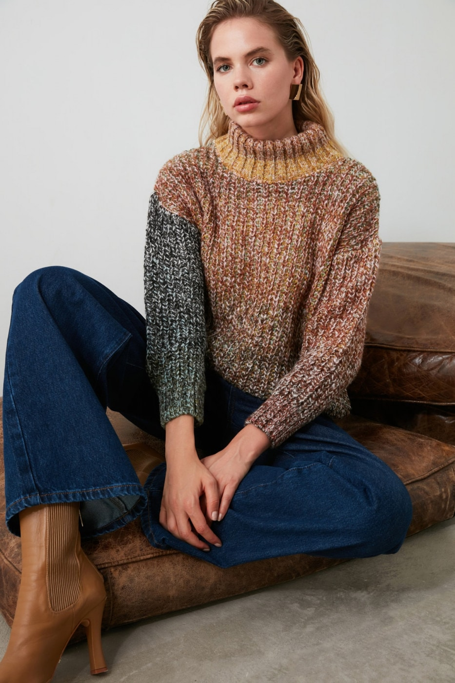 Women's sweater Trendyol Multicolored