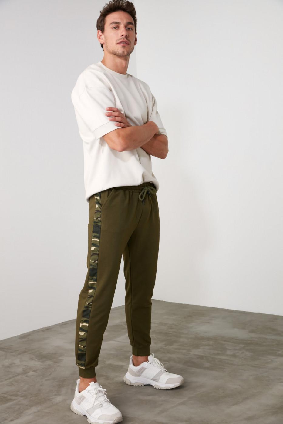 Trendyol Khaki Knitted Tracksuit bottom