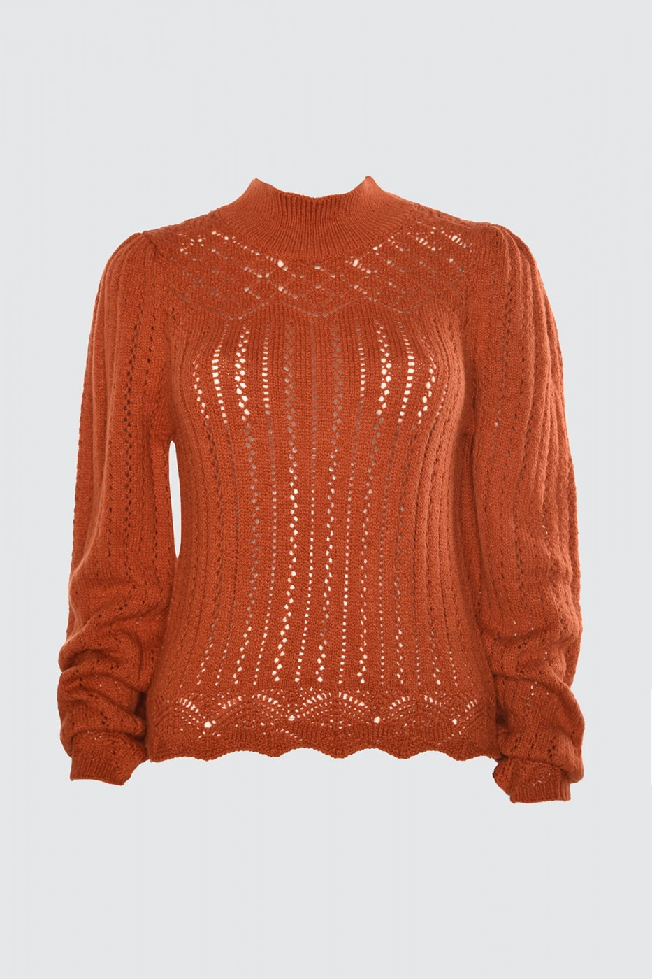 Trendyol Cinnamon Blindk Edifying Sweater