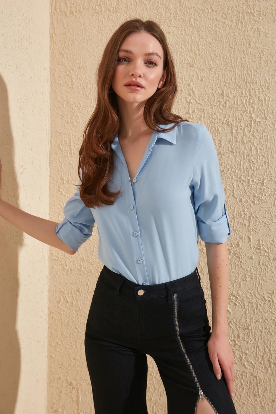 Women's shirt Trendyol Monochrome