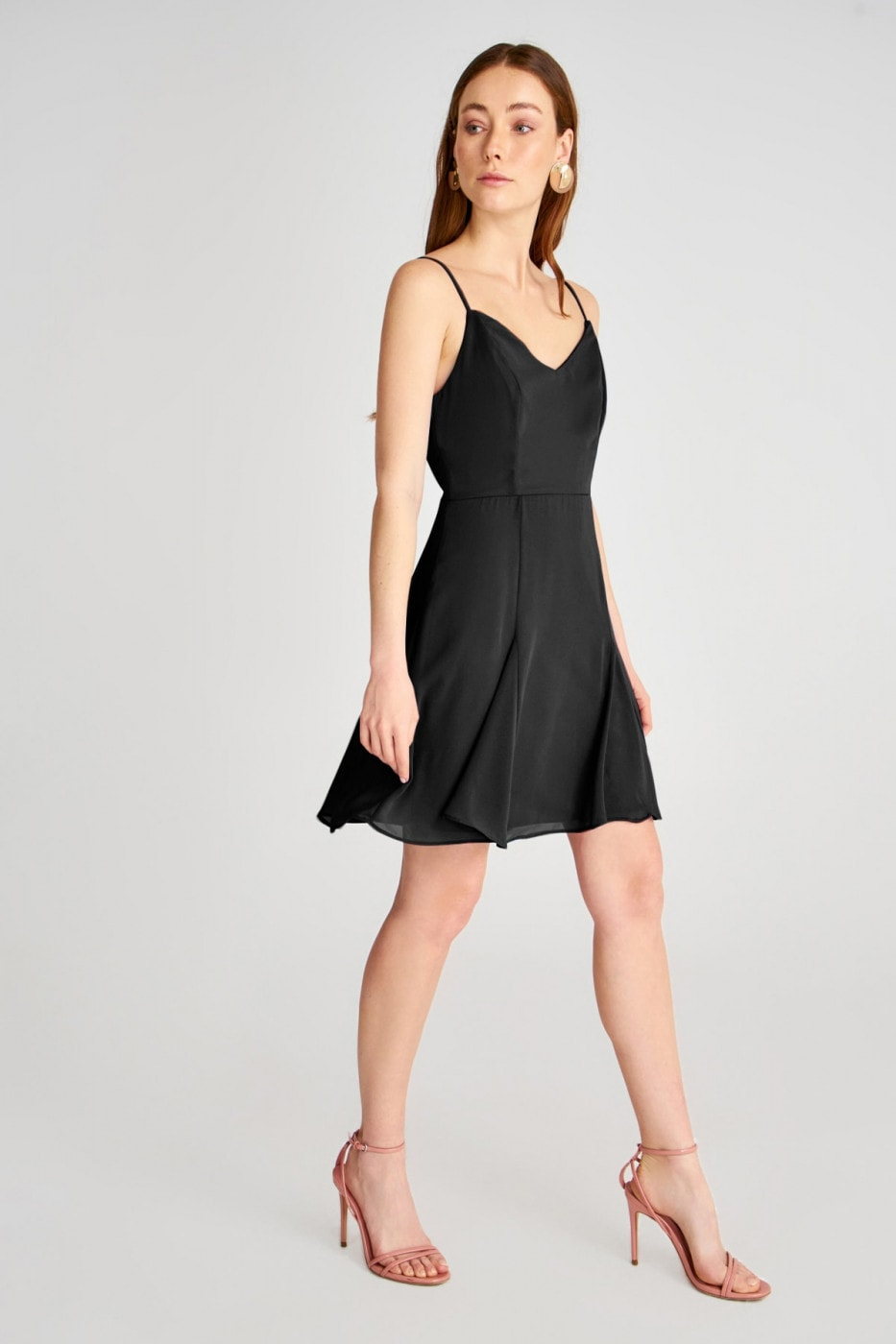 Trendyol Black Strap dress