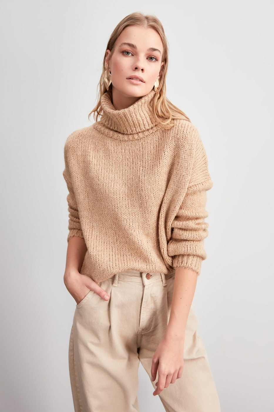 Women's Turtleneck Trendyol Knitwear